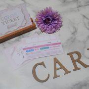 ヘアカラーチケットカード